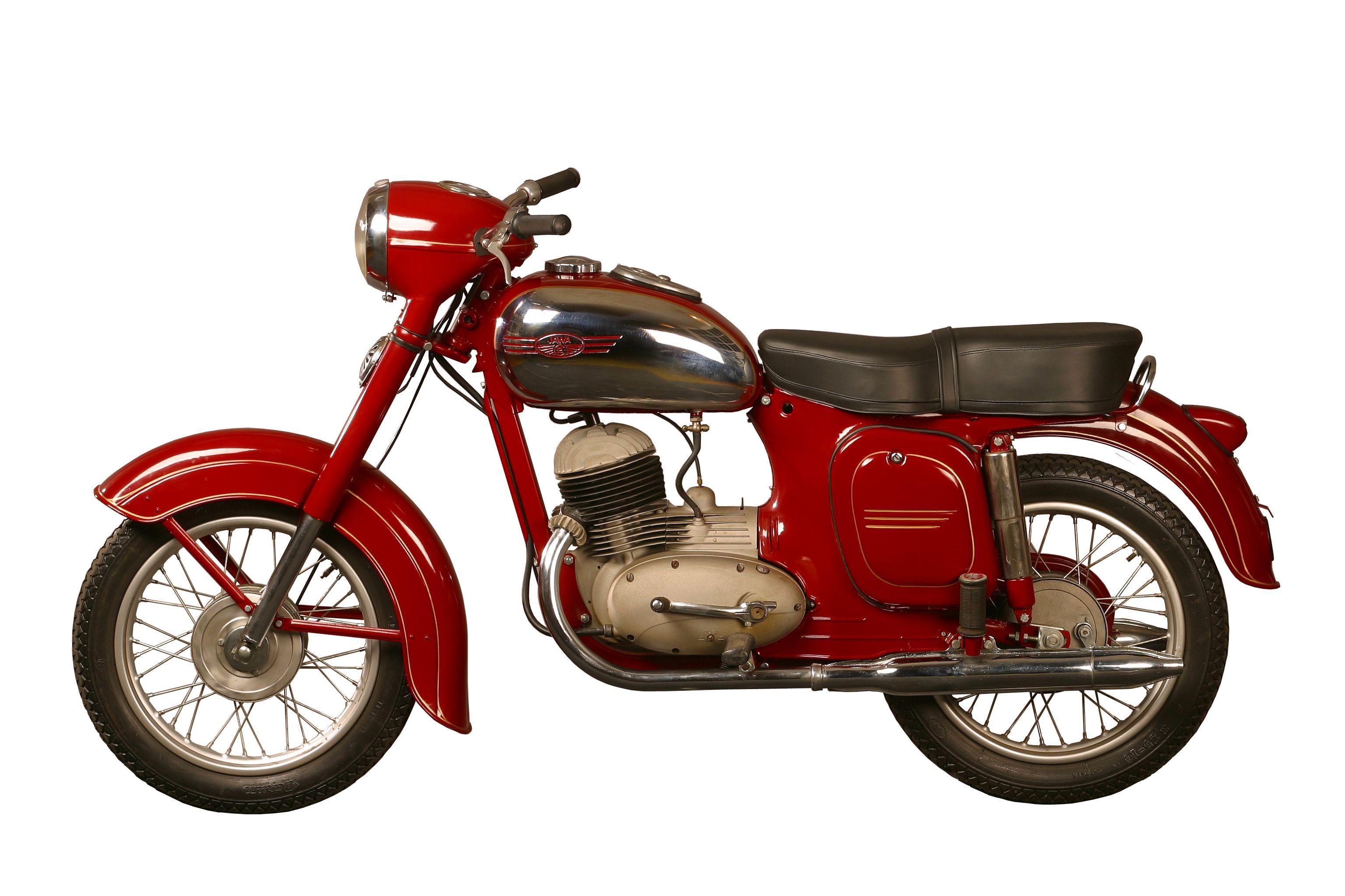 Wonderbaar Motorcycles JAWA GC-71